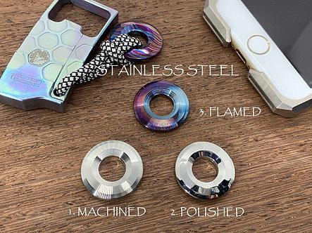 STAINLESS Steel Knife lanyard Pendant bead Paracord bead Lanyard necklace EDC