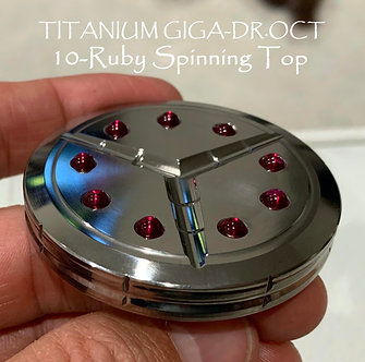 Warping Effects Titanium GIGA-DR.OCT 10-Ruby Spinning Top Stress relief EDC