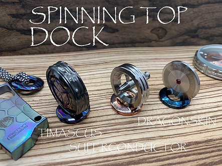 Superconductor v2 Spinning Top Dock Timascus Spinning Top Base Every Day Carry