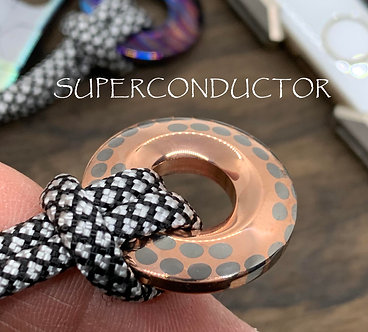 Superconductor v2 Knife lanyard Pendant bead Paracord bead Lanyard necklace