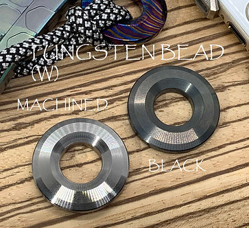 TUNGSTEN Knife lanyard Pendant bead Paracord bead Lanyard necklace Knife bead