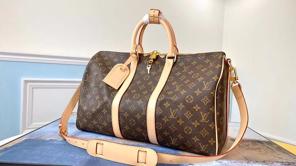 Louis Vuitton Keepall Bandouliere, Monogram