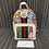 Thumbnail: GUCCI Ophidia Flora Small Beige and White Gg Supreme Canvas Backpack