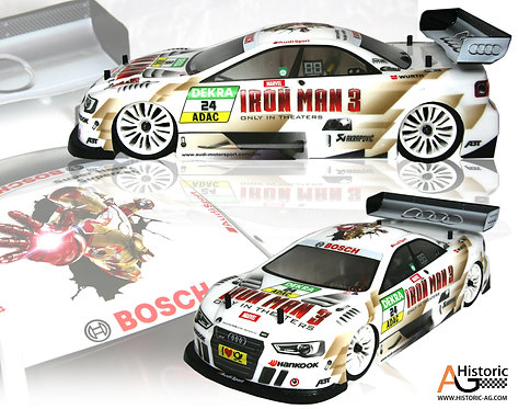 STICKERS AUDI DTM IRON MAN
