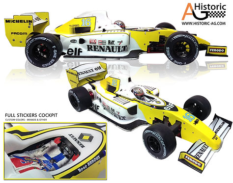 STICKERS RENAULT R10 Arnoux