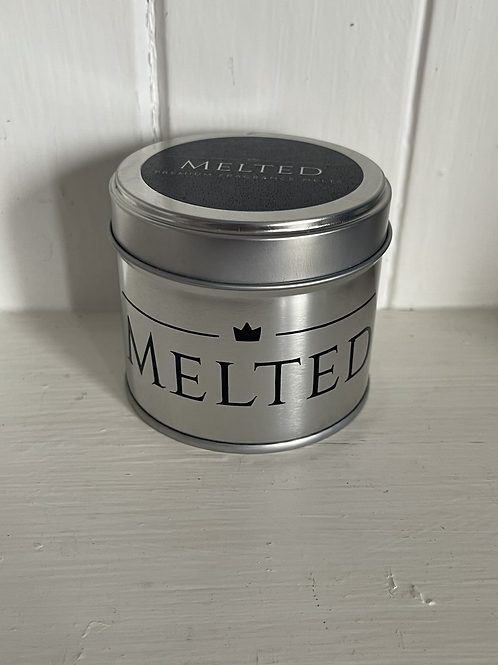 Luxury Silver Candle