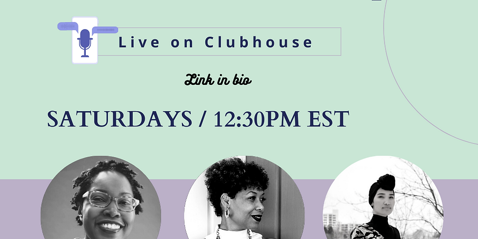 TRIPLE THREAT: Black + Mom + Startup (Live on Clubhouse)