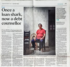 Once a loan shark, now a debt counsellor