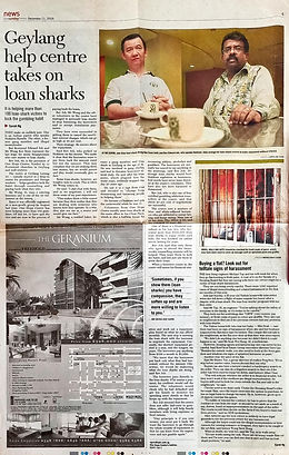 Geylang help centre takes on loan sharks