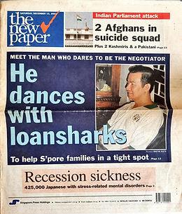 He dances with loansharks