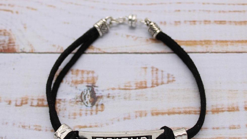 Microsuede Bracelet Kit - Friend