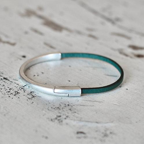 Silver Lubec Bracelet