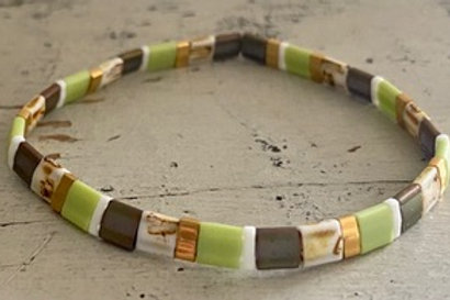 Tila Bracelet Kit Green Tan