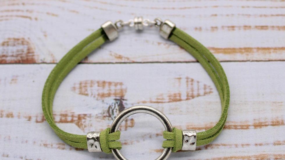 Endless Ring Microsuede Bracelet Kit