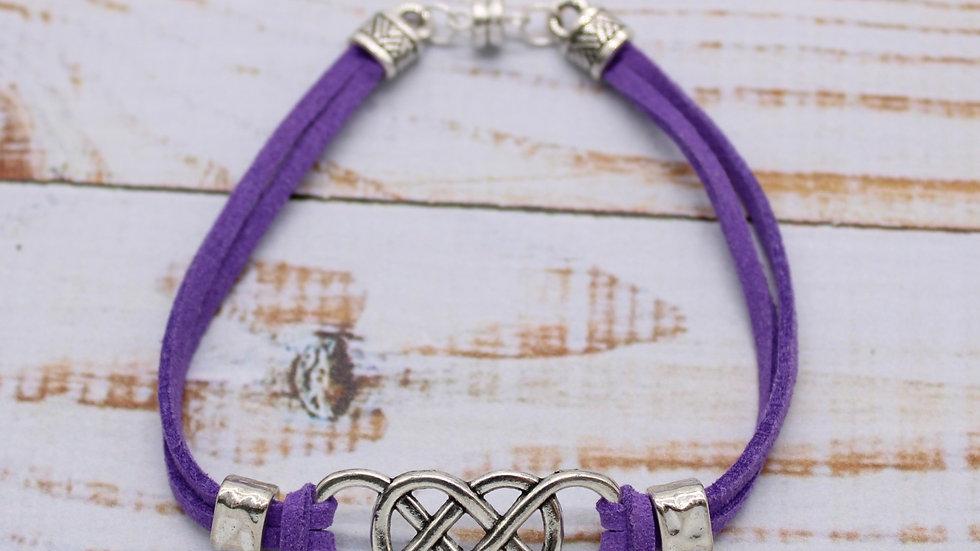 Microsuede Bracelet Kit - Celtic Knot