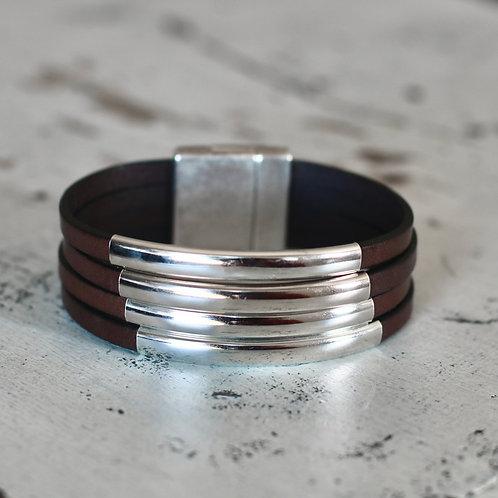 Silver Port Clyde Bracelet