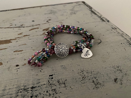 Mother's Day BoHo Bracelet Kit HEATHER