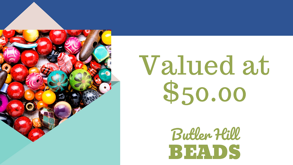 $50 Value Gift Certificate