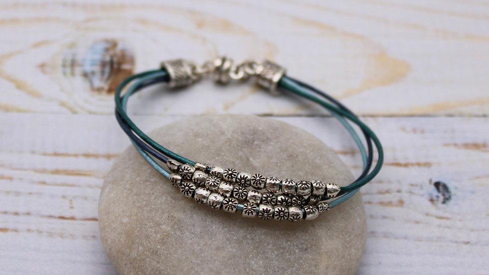 Starflower Leather Bracelet Kit