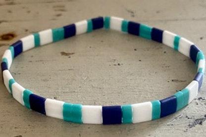 Tila Bracelet Kit Navy Turquoise