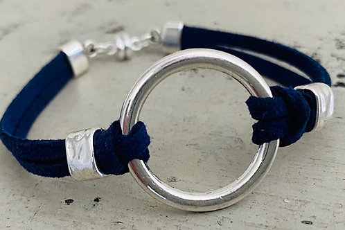 Endless Ring Microsuede Bracelet Kit Navy