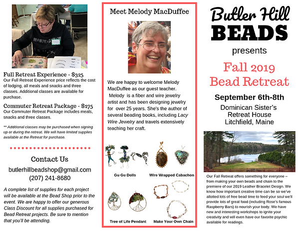 Fall 2019 Bead Retreat Brochure FINAL (4