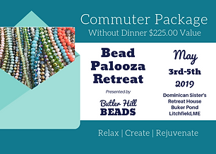 Bead Palooza Ticket COMMUTER no dinner (