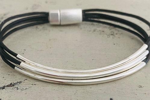 Classic Leather Bracelet  Kit BLACK