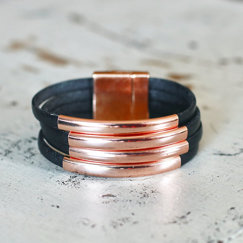 Rose Gold Port Clyde Bracelet