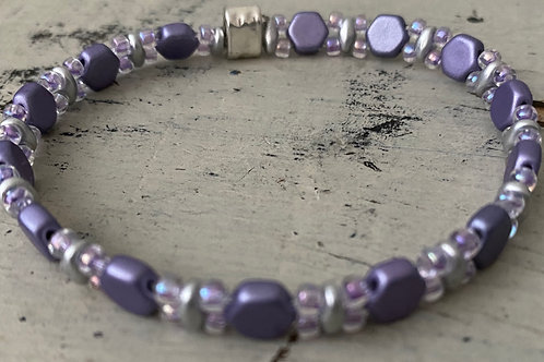 Honeycomb Bracelet  Kit PURPLE