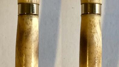 Slimline Walnut (sapwood) Pen