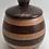 Thumbnail: Lidded Walnut and White Oak Pot