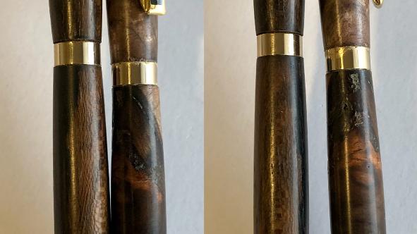 Slimline Pen and Pencil Set (Walnut)