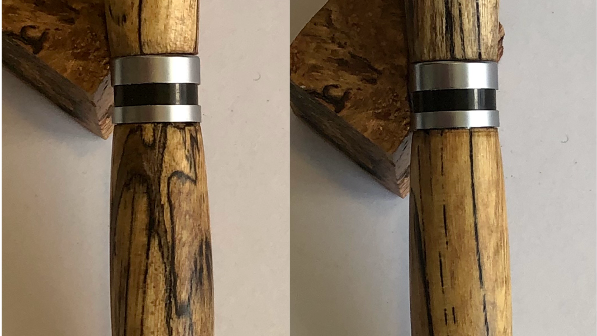 Classic Twist Pen Spalted Elm