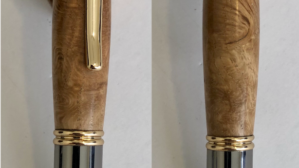 Gatsby 24kt Gold and Gun Metal Twist Pen Kit