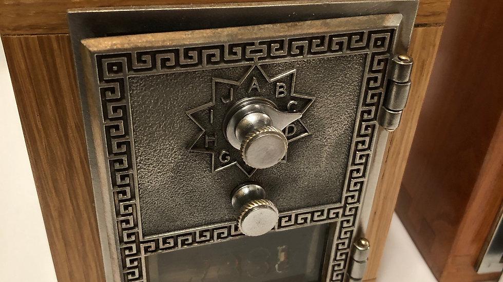White Oak Post Office Box Door Bank
