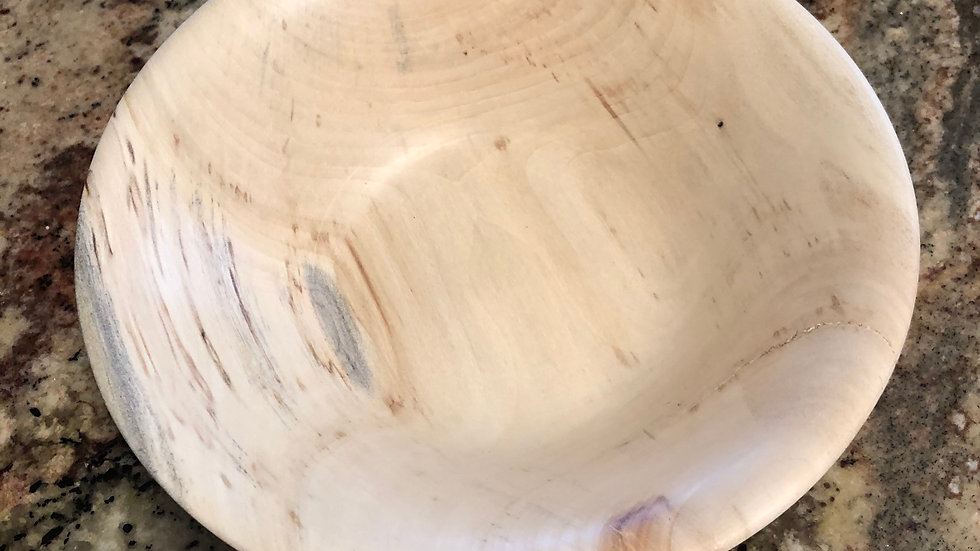 White Maple Bowl