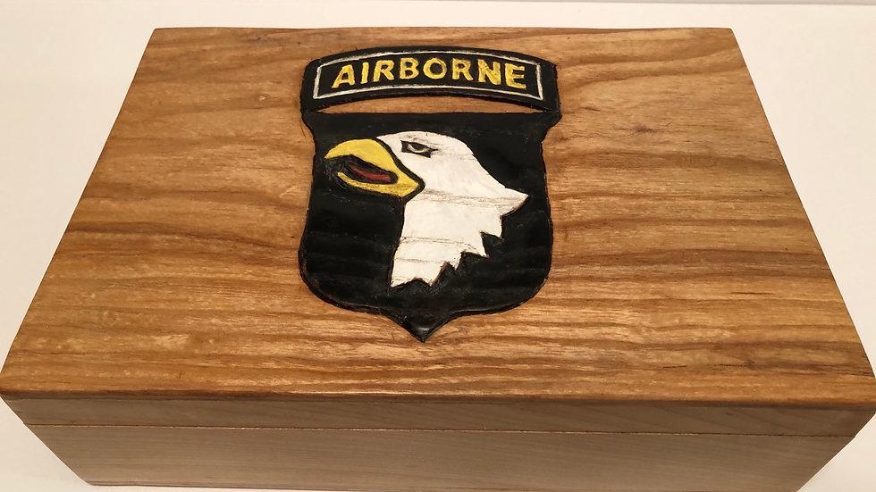 101st Airborne 1911 Pistol Display or Presentation Box