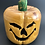 Thumbnail: Two Faced Handcarved Jack-o-lantern