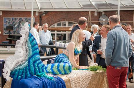 Mermaid Queen at event