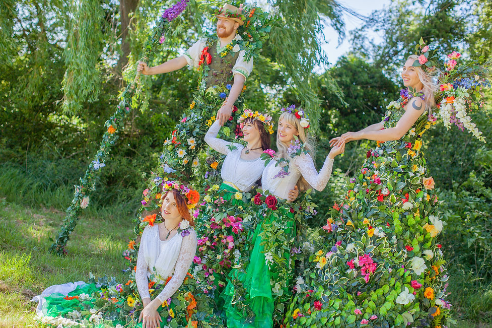 Enchanted Forest performers by Diamond Rose Entertainment