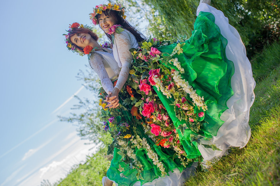 Enchanted Forest Dancers by Diamond Rose Entertainment