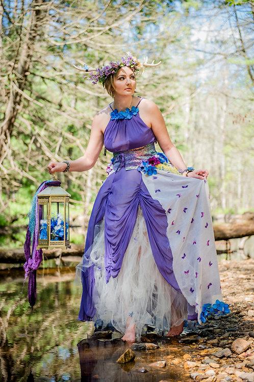 Forest Fairy Dress - sz.10 - Cover dress!
