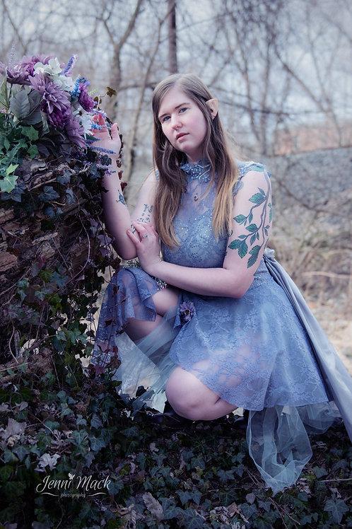 Lilac Winter Fairy costume/dance leotard Size Large