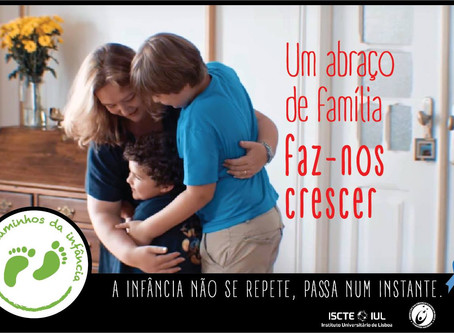 Um abraço de família faz-nos crescer!