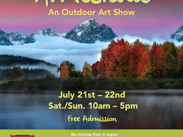 Sculptures at the Rockies this Summer!