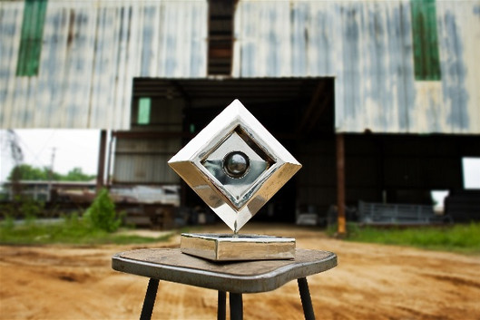 Bank of the Ozarks Corporate Logo Sculpture