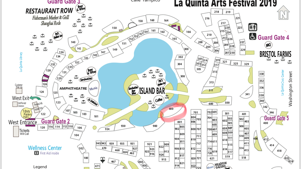 Festival Map Booth#800