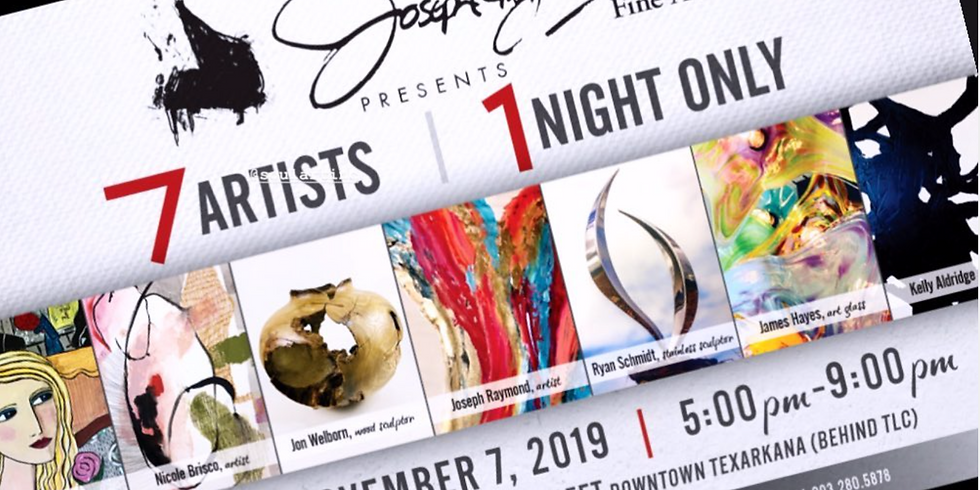 7 Artists | 1 Night ONLY