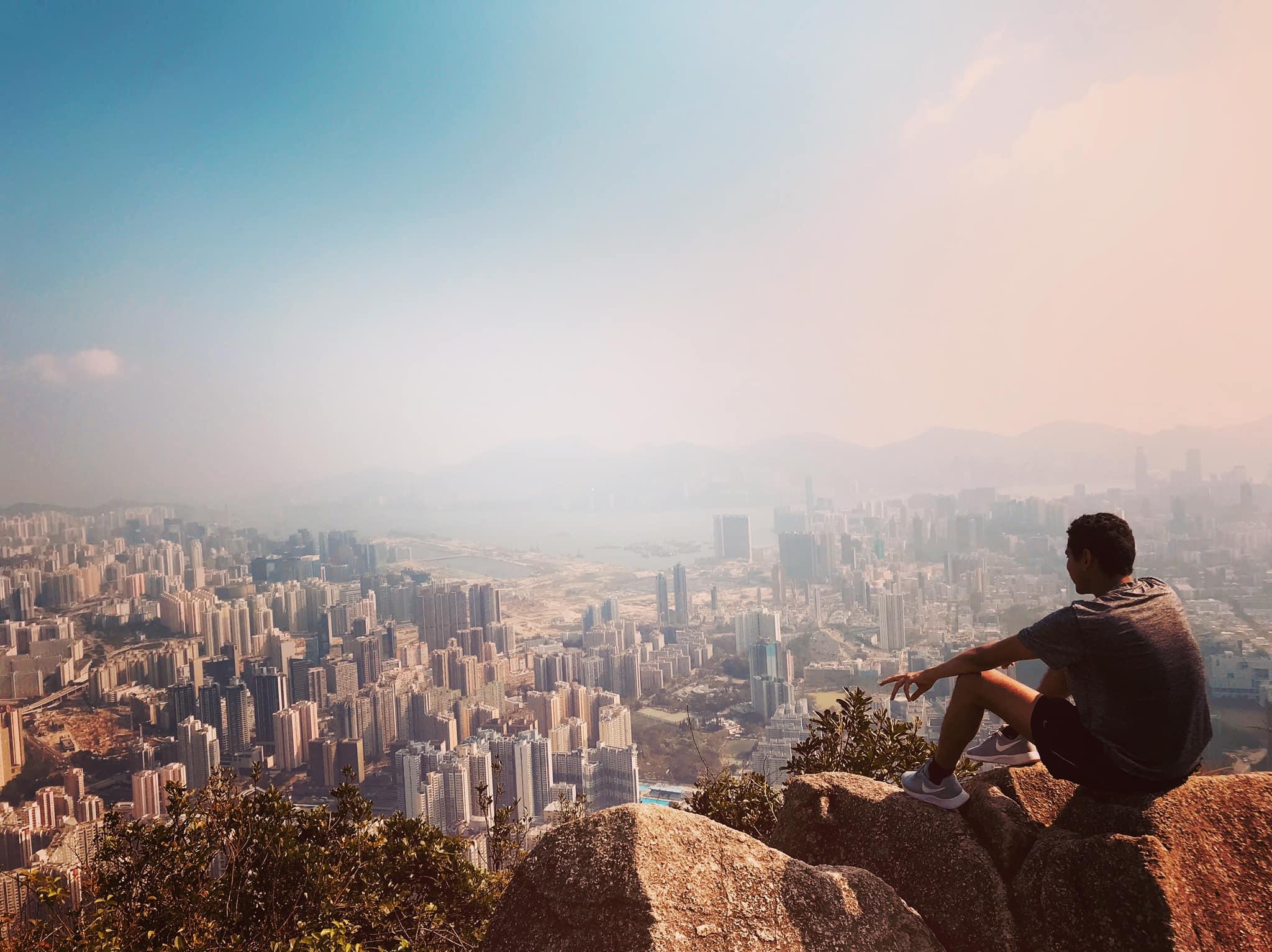 Overlooking HK